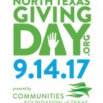 North Texas Giving Day is Sept. 14, 2017!